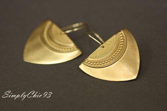 Arrow Head Earrings Aztec Earrings Pattern by simplychic93 on Etsy