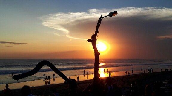 Sunset @Seminyak BEACH