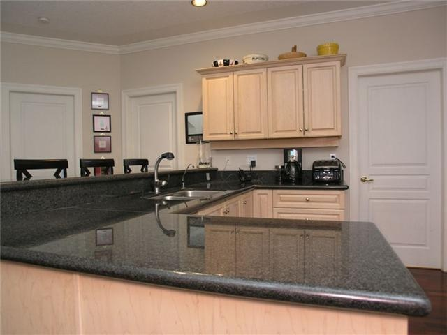 Light natural maple cabinet with grey counter top ... on Gray Countertops With Maple Cabinets  id=49039