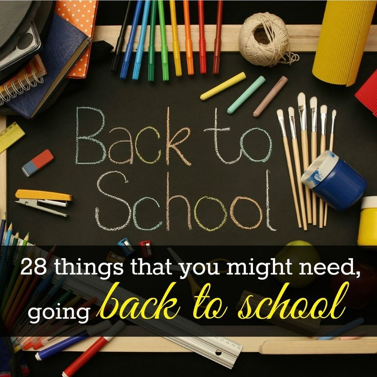 28 things that you might need, going #backtoschool #school #teacher #dorm