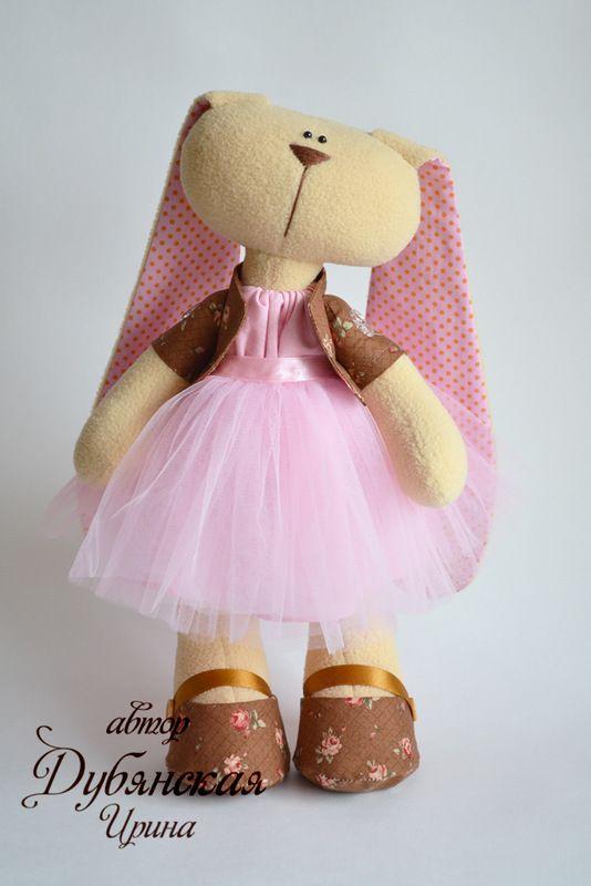 Мягкие игрушки Зайцы, зайчата и кролики - 13 Июня 2013 - Кукла Тильда. Всё о Тильде, выкройки, мастер-классы.
