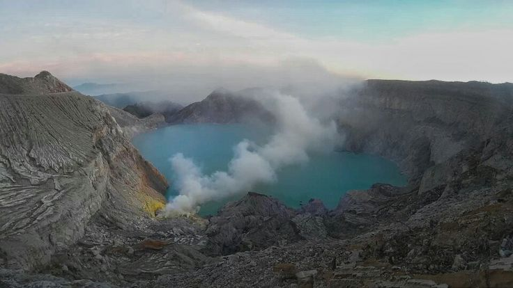 Kawah ijen, banyuwangi, indonesia Just two place in the world that have the Blue Fire, and Ijen have a great blue fire. Hiking about 2 hours you will be see the amazing blue fire