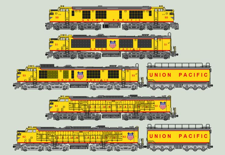 Union Pacific Turbines by SimonLMoore