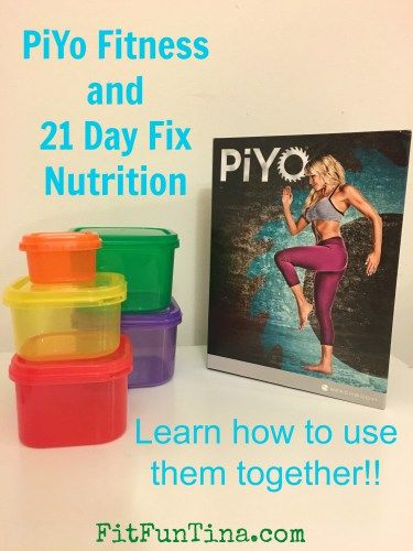 PiYo Fitness program and 21 Day Fix nutrition - can the two be mixed? YES! Click here to find out how! Head over to www.fitfuntina.com for more recipes and resources.