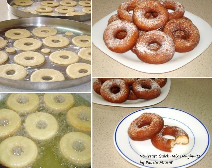 Quick-Fix Doughnuts | Cookies, Brownies & Doughnuts | Doughnuts, Easy donut recipe, Donut recipes