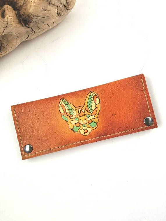 Check out this item in my Etsy shop https://www.etsy.com/ca/listing/576162203/womens-leather-fox-wallet-womens-leather