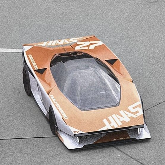 Apparently autonomous #nodriver #forgot #wedge #dome #70s #racing
