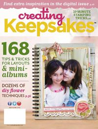 Creating Keepsakes scrapbooking magazine posts free downloads and printables every month!