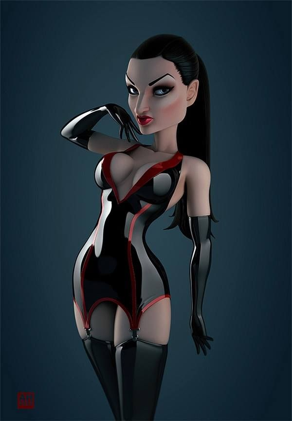 3d animated fetish