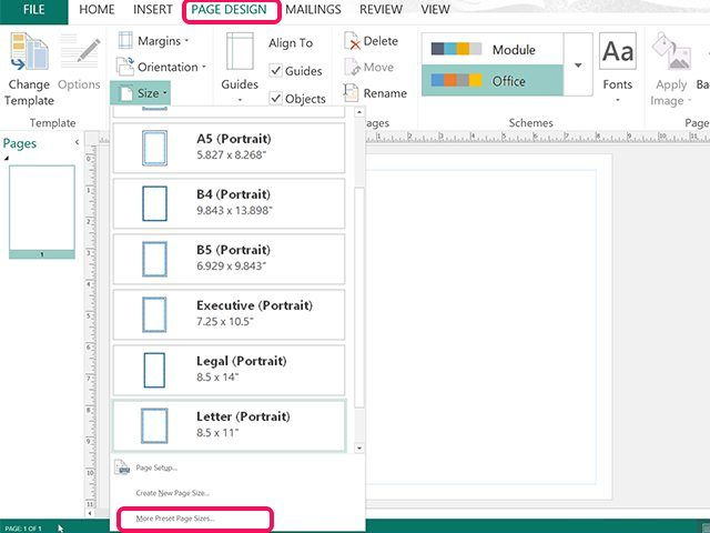57 best Microsoft Publisher images on Pinterest Microsoft - one inch margins