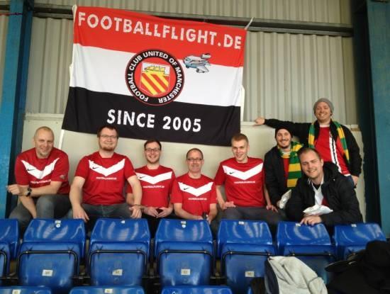 Football Flight traveller at Gigg Lane: FC United vs. Witton Albion!