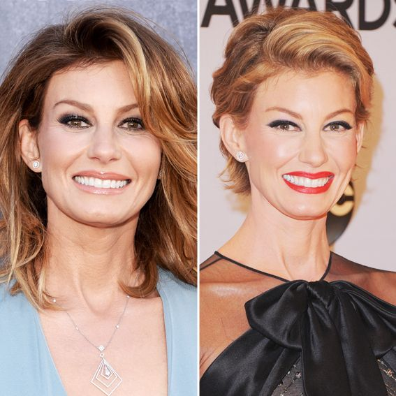New Hair 2014: See Celebrity Hair Makeovers! - Faith Hill from #InStyle
