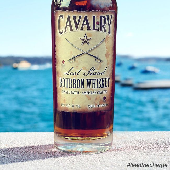 """""""Lead the charge forever, Join Cavalry its now or never."""" #leadthecharge #cavalrybourbon #bourbon #cavalry #bourbonlife #whiskytime #whiskybunker"""