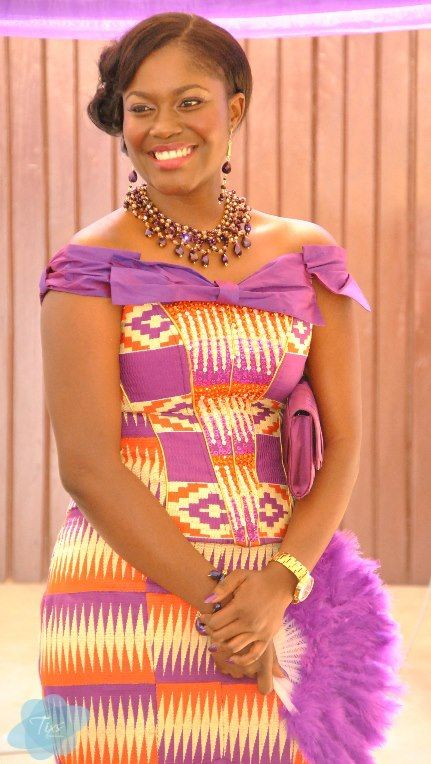African Sweetheart: Traditional Weddings Ghana: Kente Wedded Bliss