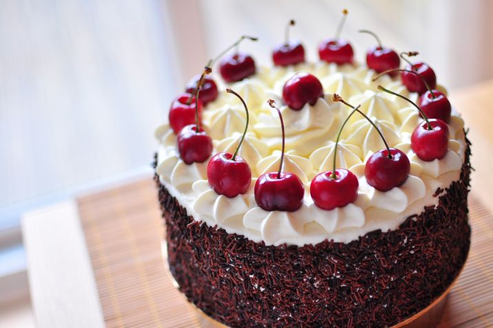 Black Forest gateau | Cherries | Pinterest | Black Forest, Forests and ...