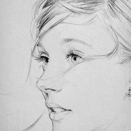41 best illustration inspiration images on pinterest for Inspirational pencil sketches