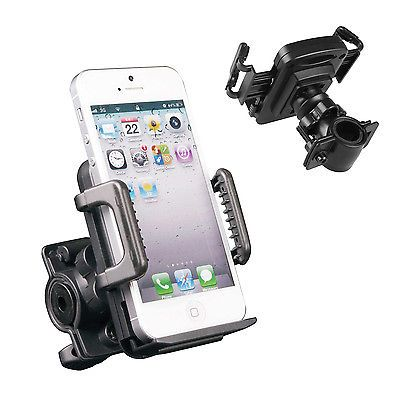 Hypersonic Cell Phone GPS Motorcycle MTB Bicycle Handlebar Bike Mount Holder