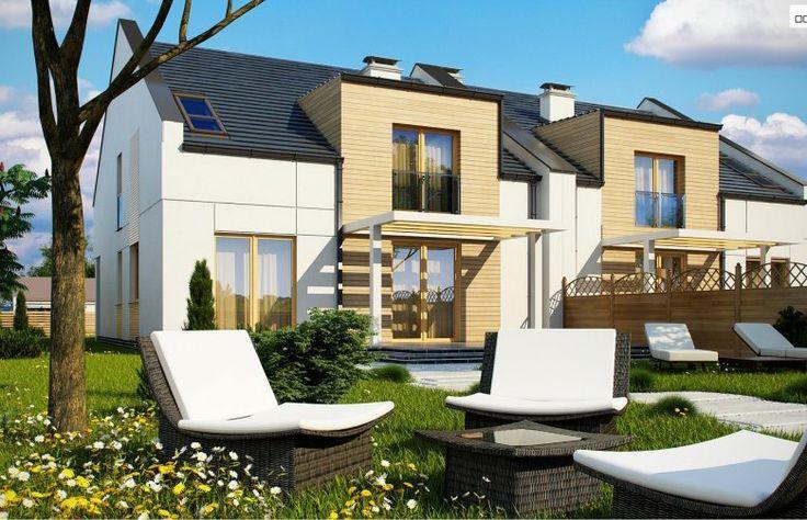 Projekt domu bliźniaczego Zb13