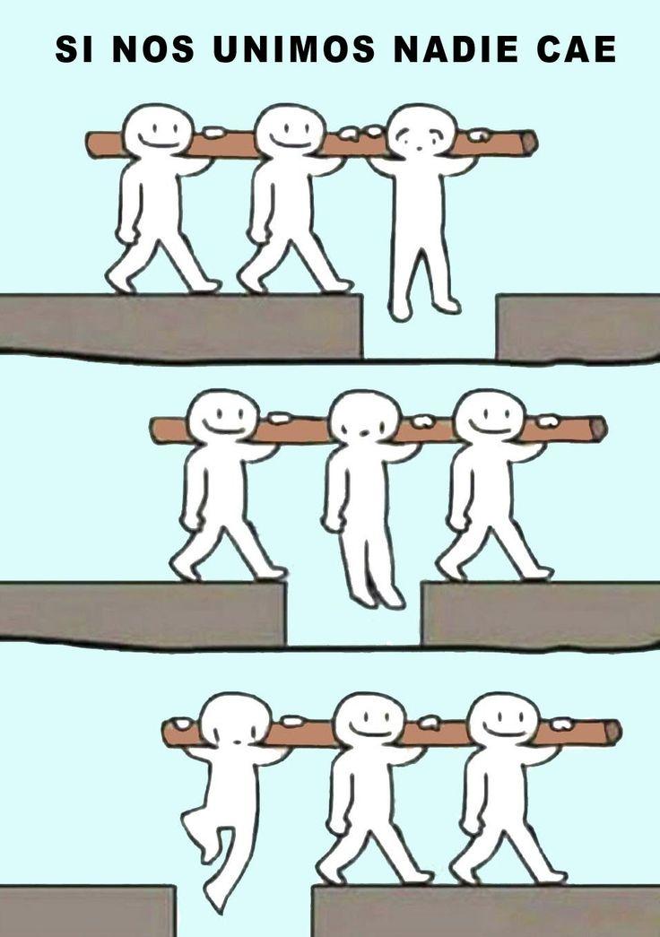 nadie cae