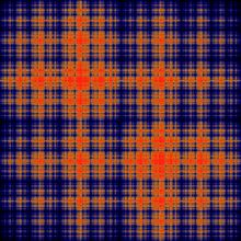 Ising model - statistical model, awesome plaid pattern or both
