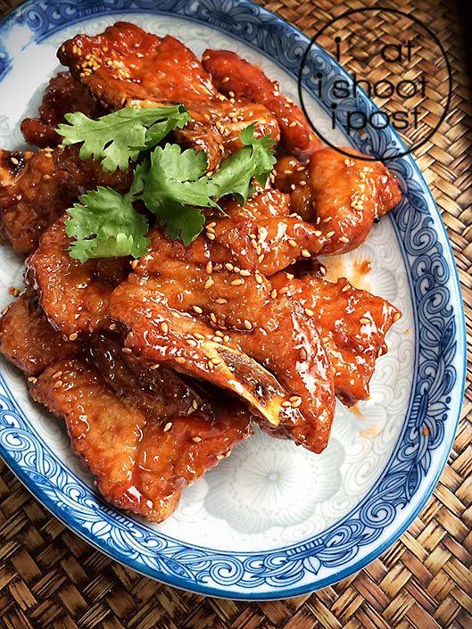 京都排骨 Jin Du Pai Gu (Kyoto Pork Ribs) Chinese Recipe