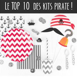 1000 & 1 idées pour offrir un anniversaire pirate inoubliable à votre enfant ! Invitations, recettes, idées de jeux et déco... c'est parti !