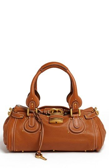 $2,195, Tobacco Leather Satchel Bag: Chloé Chloe Paddington Leather Satchel Tan. Sold by Nordstrom.