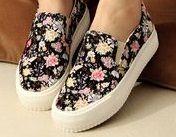cute floral shoes... Ylime xxx
