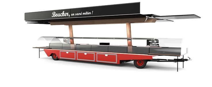 Fabricant camion magasin, remorque magasin, food-truck
