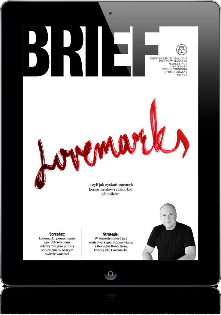 Magazyn marketingu i sprzedaży BRIEF jest pierwszym polskim, branżowym, magazynem w wersji na tablet. W pełni multimedialna i interaktywna aplikacja prasowa jest jednym z pierwszych tytułów prasowych w Europie, stworzonych w rozwiązaniu Adobe Digital Publishing Suite. Wydawca: AdPress Wydawnictwo Reklamowe, Wersja iOS
