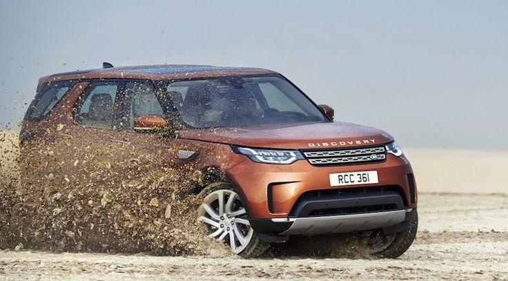 Land Rover Discovery 2017, se hace oficial el SUV ahora mucho más ligero y tecnológico - http://www.actualidadmotor.com/land-rover-discovery-2017-oficial/