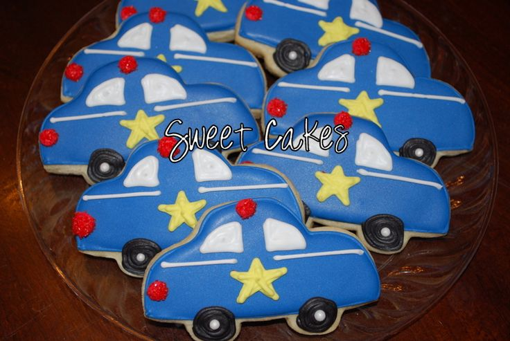 police car cakes pictures | Police Cars!!!
