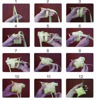 tutorial cara membuat ketupat mudah