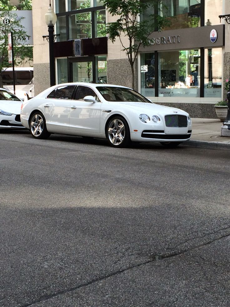The White Bentley Gt Continental O O My Favorite Car