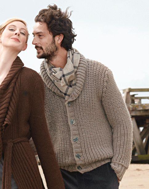 Mens Shawl Collar Pullover Knitting Pattern Irish Collared Men S