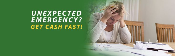 Whatever your unexpected emergencies may be, Cash in a Flash has got you covered. Don't stress about that upcoming bill; we are here to help you get in control of your personal finances. Apply for a payday or signature loan today hassle-free!