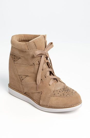 Jeffrey Campbell 'Venice-Hi' Wedge Sneaker available at #Nordstrom