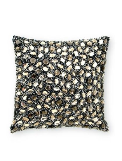 Decorative Beaded Pillow #home