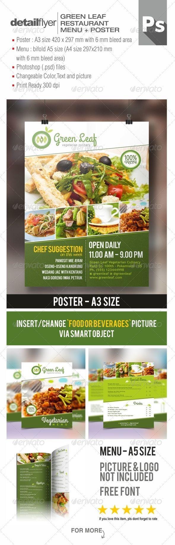 Best Restaurant Flyer Designs Images On   Flyer Design