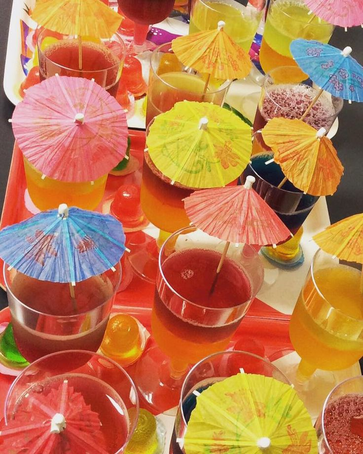 Our jelly cups served at our Melbourne Cup  themed Youth Space were delicious! Join us again next week at 3:30pm for milkshakes and other delicious treats