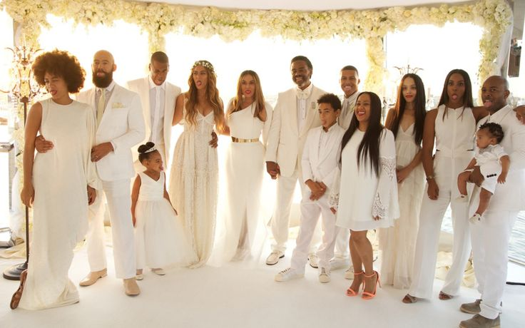 Even Blue Ivy Had a Ball at Her Grandma Tina's Wedding