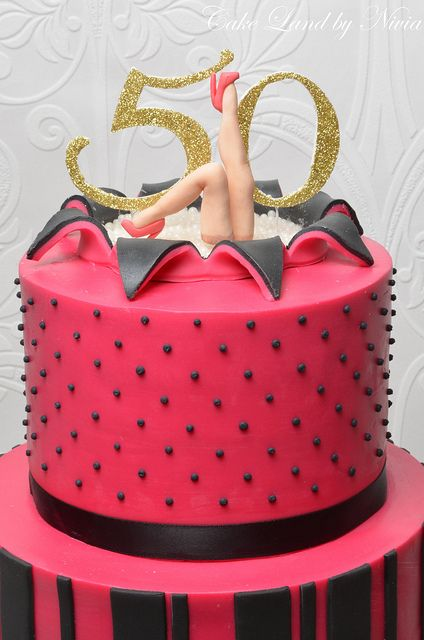 50th Birthday Cakes For Female | 50th birthday cake | Flickr - Photo Sharing!