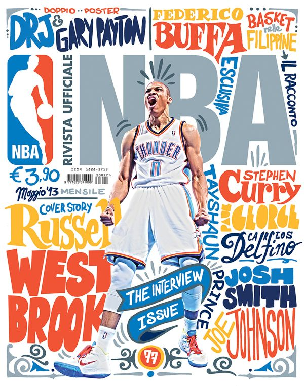 Covers designed for Rivista Ufficiale NBA, the official NBA magazine in Italy…