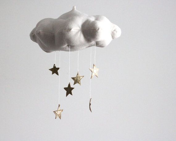 Gold Star Cloud Mobile.  Will have to add one crescent moon