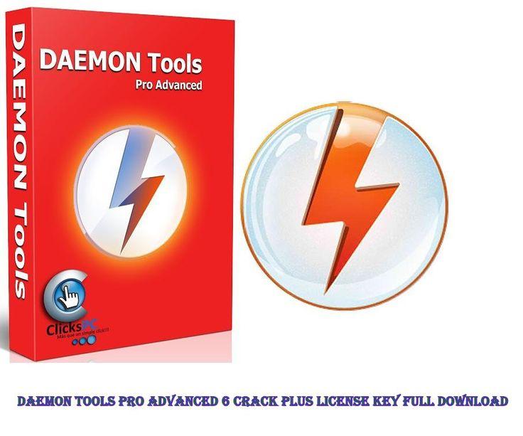 Daemon Tools Pro Advanced 6 Crack Plus License Key Full Download