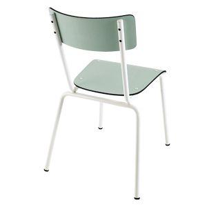 Chaise en formica Suzie Les Gambettes - Menthe