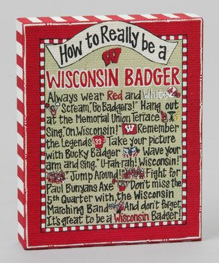 How to Really be a Wisconsin Badger~Time to Tailgate: College Colors   and kids
