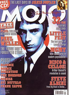 MOJO Magazine - May 2010 - PAUL WELLER cover
