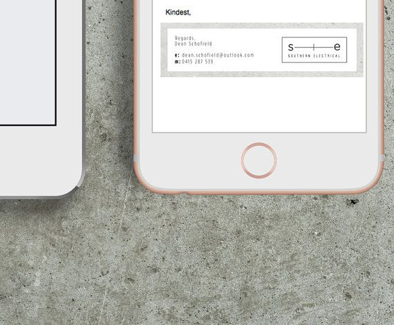 how to add facebook instagram in email signature