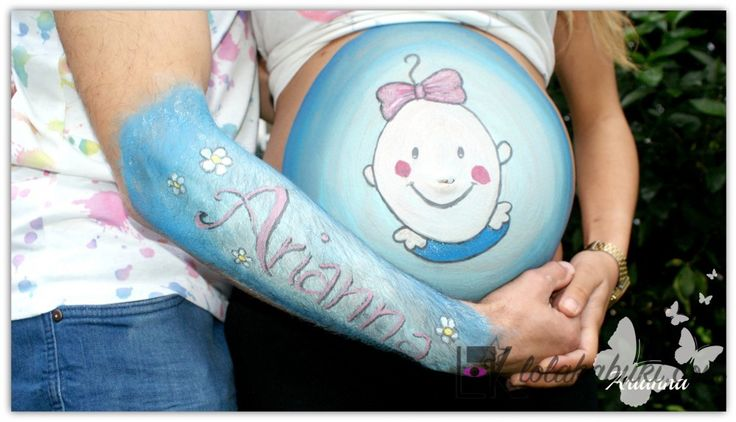 BELLY PAINTING OLATZ  #painting #belly #pregnancy #pinturas #embarazo